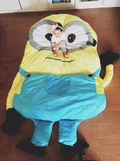 minion pillow...would be cool for a movie room