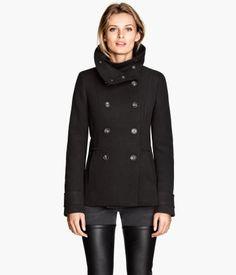 H&M Dobbelknappet jakke 200,-