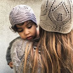 """KNITTING FOR OLIVE on Instagram  """"- Mama and me - Our  lacebeanie is a  beanie version of our  lacehat. Sizes from 1-2 years to adult. 0e85a5054fd89"""