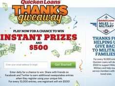 Quicken Loans Cyber Monday Campaign Sweepstakes
