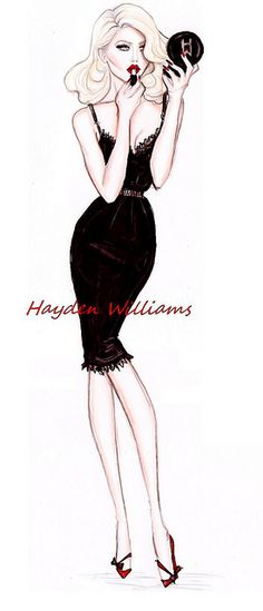 'Boudoir Glamorous' by Hayden Williams by Fashion_Luva, via Flickr