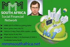 MMM South Africa OFFERED from new york Arizona Pima @ Adpost.com Classifieds > Philippines > #102310 MMM South Africa OFFERED from new york Arizona Pima,free,classified ad,classified ads Free Classified Ads, Business Opportunities, Philippines, South Africa, Arizona, New York, New York City, Nyc