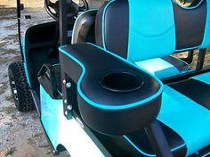 Golf Cart Seat Covers, Golf Cart Seats, Rear Seat, Yamaha, Club, Black, Black People