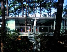 House in Lège Cap Ferret, by Lacaton & Vassal. Photograph © Philippe Ruault.¡