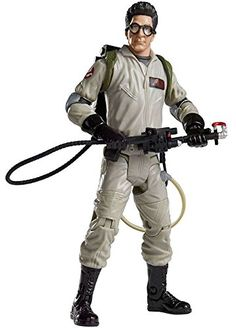 Ghostbusters Classic Egon Spengler Action Figure [Build the No-Ghost Logo] Kevin Ghostbusters, Ghostbusters Characters, Original Ghostbusters, Ghost Logo, Ghost Hunting, Halloween Ghosts, Good Movies, Action Figures, Classic