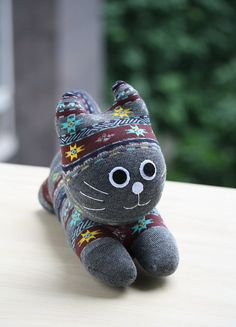 T8 Stuffed cat toy plush boy doll baby stuffed toy by Leekary