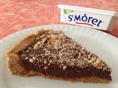 RECIPAY.COM - Cheesecake sans cuisson au chocolat, noisettes et Saint Môret