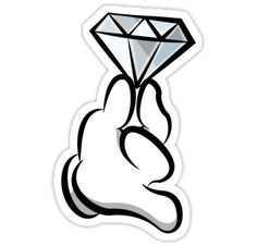 Diamond stickers featuring millions of original designs created by independent artists. Graffiti Doodles, Graffiti Drawing, Graffiti Lettering, Graffiti Art, Cartoon Drawings, Cartoon Art, Art Drawings, Arte Do Mickey Mouse, Mickey Hands