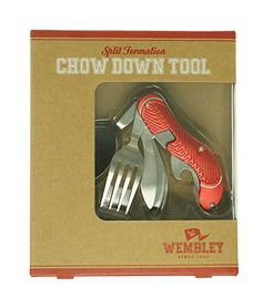 Wembley Tailgate Chow Down Tool  Red * Find out more about the great product at the image link.