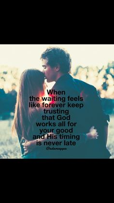 His Timing Is Never Late