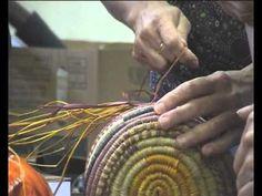 Weaving Basket - YouTube