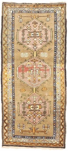 Details about Antique Caucasian Runner rug. 810 - Pastel Rugs - Ideas of Pastel Rugs - Carpet Runners At Home Depot Southwest Rugs, Rug Runners, Aztec Rug, Carpet Runner, Rugs On Carpet, Hall Carpet, Colorful Rugs, Vintage Rugs, Home Depot