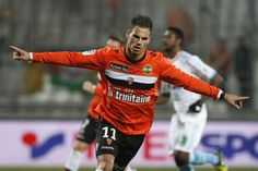 ~ Jeremie Aliadiere of FC Lorient with a brace against SC Bastia ~