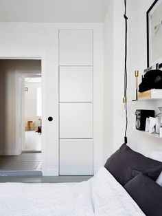 Hidden storage solutions in bright Gothenburg apartment - emmas designblogg