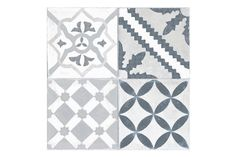 Mardi Gras Grey Wall & Floor Tiles 45x45cm
