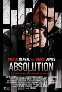 ABSOLUTION - Steven Seagal - US Imported Wall Movie Poster Print - 30CM X 43CM Brand New