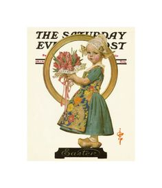 Easter Dutch Girl, c.1926  by Joseph Christian Leyendecker