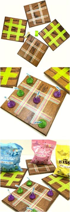 These DIY Tic Tac Toe Boards are perfect for your next birthday party! The kids can make them as an activity and they double as a favor!