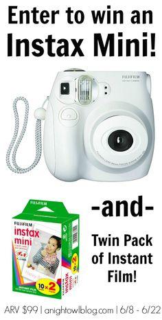 Win a new camera!