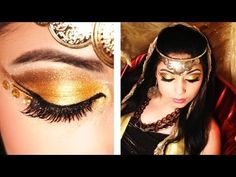 Queen Esther Makeup Tutorial So cool!  Queen Esther is one of my fave stories of the Bible.