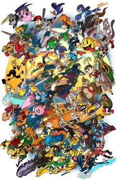 Super Smash Bros! por IAMARG //