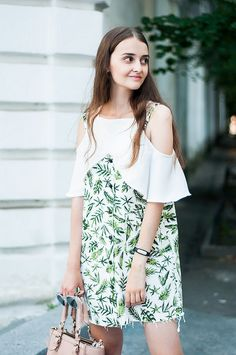 trendy dress summer outfit
