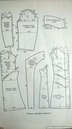 Vzory oděvních 1975 / střihových šablon pro dívky, panenky / Beybiki. Foto panenky. Oblečení pro panenky