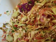Spicy Mexican Cabbage Salsa