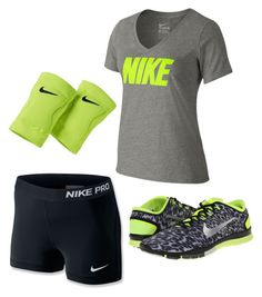 """""""Nike volleyball outfit"""" by princess-halle-sage on Polyvore"""