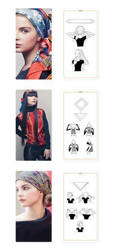 How to tie a Hermès scarf