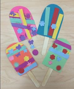 Occupying the child with creative crafts has huge importance for his development. we dedicate this article to creative crafts Paper Crafts For Kids, Fun Crafts, Arts And Crafts, Cool Art Projects, Projects For Kids, Toddler Crafts, Preschool Crafts, Papier Kind, Construction Paper Crafts