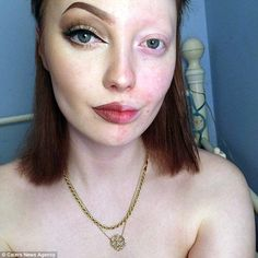 Thank heavens for make - not a criticism, I look so much better with it too. Maisie Beech, thought her-and-half make-up selfie was empowering when she posted it on. Half Face Makeup, Makeup Vs No Makeup, Power Of Makeup, Makeup Tips, Makeup Looks, Hair Makeup, Makeup Humor, Beauty Make-up, Beauty Hacks