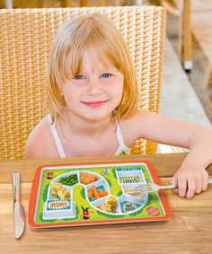 Look at this Dinner Winner Plate on #zulily today!