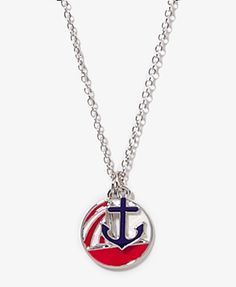 Nautical Charm Necklace | FOREVER21 - 1023834939