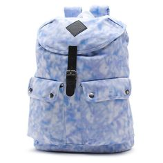 The Kick A-Round Rucksack is a cotton rucksack-style backpack with polyester lining, a drawcord closure, and multiple pockets with an interior laptop sleeve. Measuring 17 L x 13 W x D inches, it has a capacity. Vans Backpack, Backpack Bags, Drawstring Backpack, Fashion Backpack, Tie Dye Backpacks, Tie Dye Bags, Vans Bags, Round Bag, Rucksack Bag