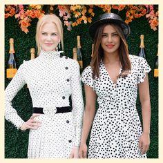 Priyanka Chopra and Nicole Kidman, Veuve Clicquot Polo Classic 2017, MyFashgram