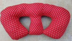 Twin Feeding Pillow PATTERN by WhatSallyMade on Etsy