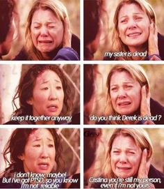 Greys Anatomy You're still my person even if I'm not yours Greys Anatomy Episodes, Greys Anatomy Funny, Grey Anatomy Quotes, Grays Anatomy, Greys Anatomy Plane Crash, Greys Anatomy Season 8, Anatomy Humor, Tv Quotes, Movie Quotes