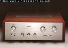 Vintage Technics Home Valve Amplifier, Speakers For Sale, High End Audio, Wooden Case, Marshall Speaker, Audio Equipment, Audiophile, Turntable, Heaven