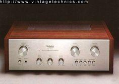 Vintage Technics Home Valve Amplifier, Speakers For Sale, High End Audio, Wooden Case, Marshall Speaker, Audio Equipment, Audiophile, Turntable, Heaven