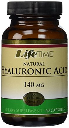 Lifetime Hyaluronic Acid  140 mg  60 Capsules >>> Learn more by visiting the affiliate link Amazon.com on image.