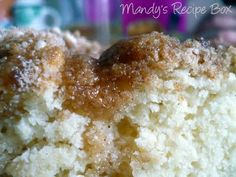 quick coffee cake (super simple ingredients that I always have in my pantry!)  DELICIOUS!!!