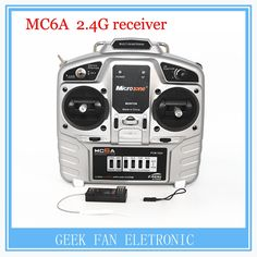 34.88$  Know more - http://aik4y.worlditems.win/all/product.php?id=32596464410 - MC6A model aircraft remote control 2.4G receiver with fixed wing aircraft through the 4 axis KT board machine wholesale