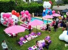 Decoração festa infantil Hello Kitty 6