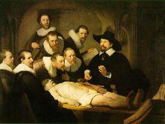 Rembrandt - La leçon d'anatomie du Dr Tulp