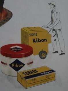 Antigas latas sorvete Kibon
