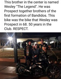 Biker Clubs, Motorcycle Clubs, Bandidos Motorcycle Club