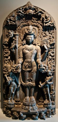 Stone Statue at the Asian Art Museum, San Francisco, CA Indian Gods, Indian Art, Stone Sculpture, Sculpture Art, Stone Statues, Buddha Statues, Asian Sculptures, Asian Art Museum, San Francisco Museums