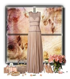 """""""Soft in shade, gentle in nature"""" by whiteflower7 ❤ liked on Polyvore featuring Alexander McQueen, Miu Miu, Guerlain, Kendra Scott, Casadei, tarte and Nest"""
