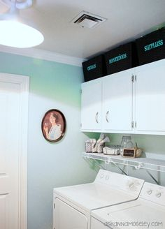 Laundry Room Organization -- Ask Anna